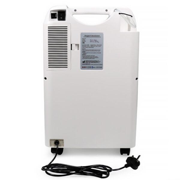 Концентратор кислорода MedPath GmbH, задняя панель
