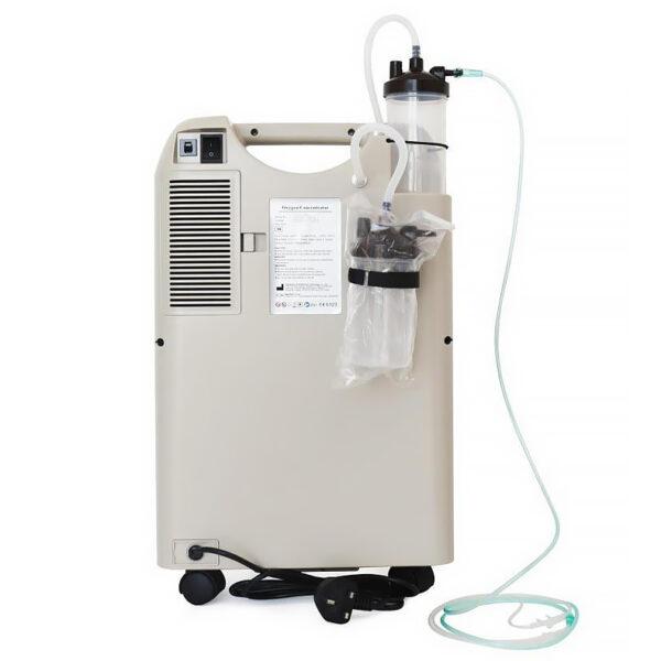 Концентратор кислорода (двойной поток) MedPath GmbH с увлажнительным стаканом