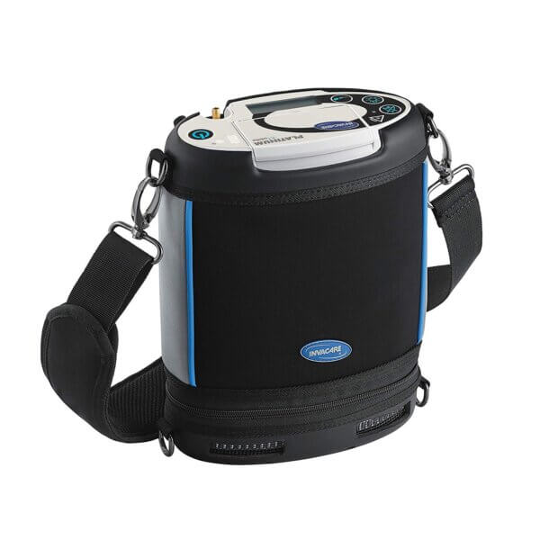 Портативный кислородный концентратор с плечевым ремнем